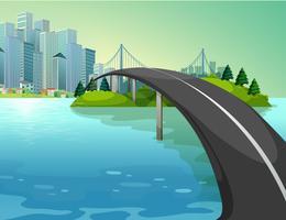 Eine Brücke vektor
