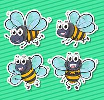 Bienen vektor