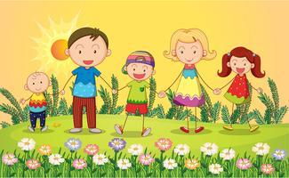 Lächelnde Kinder