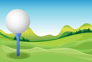 Golf vektor