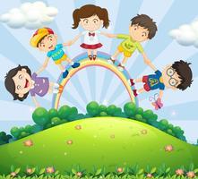 Barn vektor