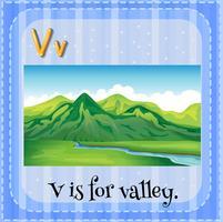 Buchstabe V vektor