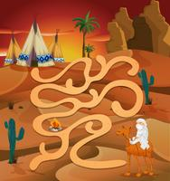 Labyrinth-Spiel vektor