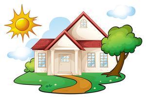 ett hus vektor