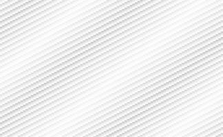 weißer Hintergrund von Kevlar, abstraktes Design der Carbonfaser. Vektor-Illustration vektor