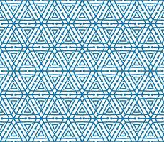 Schneeflockenfliesenmuster Geometrische Beschaffenheit der Winterurlaubverzierung vektor