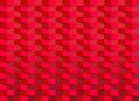 Röd tapet med rektangelstruktur. vektor illustration.