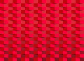 Rote Tapete mit Rechteckbeschaffenheit. Vektor-Illustration.