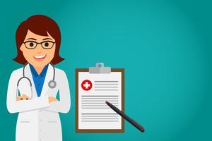 Doktorhälsovården (kvinna)