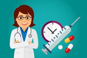 Ärztin im Gesundheitswesen (Frau)