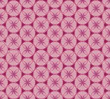 Oriental blommönster Abstrakt blommigt prydnad Swirl tyg bakgrund