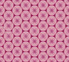 Orientalisches Blumenmuster Abstrakter Blumenverzierungs-Strudelgewebehintergrund