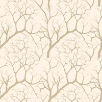 Natur nahtloses Muster. Winterwald Hintergrund. Bäume Tapete