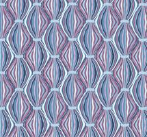 Abstrakt sömlös mönster Line prydnad Virvel orientalisk konsistens
