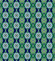 Abstraktes geometrisches Muster. Kreis Ornament. Polka Dot Fliesenverzierung