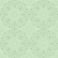 Abstrakt blommig geometrisk prydnad. Seamless Line mönster