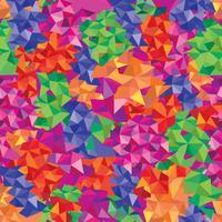 Abstrakt sömlöst mönster. Geometrisk mosaik bakgrund