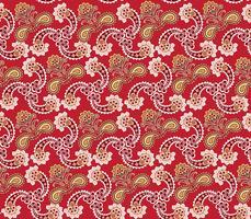 Blommigt sömlöst mönster. Orientalisk konsistens. Blomma prydnad