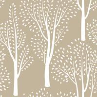Natur nahtloses Muster. Wald mit Ziegeln gedeckter Hintergrund.