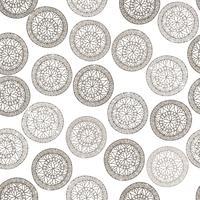 Abstrakt geometriskt mönster. Blomcirkel orientalisk etnisk bakgrund.