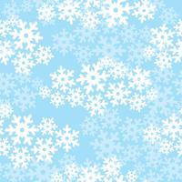 Schnee nahtlose Muster. Weihnachten Winterurlaub Hintergrund vektor