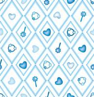 sömlös babyleksak, barnleksaker diamant prydnad