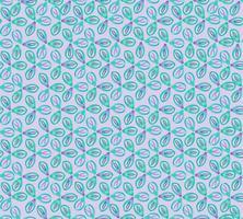 Abstrakt orientaliskt blommigt kakelmönster. Geometrisk prydnad