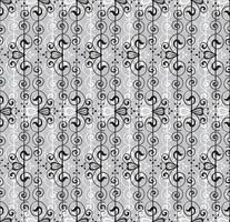 Abstraktes nahtloses Muster. Retro Strudellinie Verzierung.