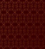 Abstraktes nahtloses Muster. Retro Strudellinie Verzierung. vektor