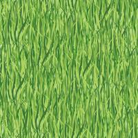 Nahtloses mit Blumenmuster mit Gras. Wiese Kachelhintergrund vektor