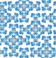 Virvel blommig sömlös mönster. Ornamental bakgrund i rysk stil.