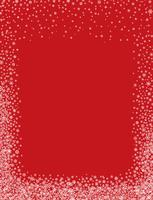 Schneegrenze Weihnachtswinterferienrahmen-Grußhintergrund vektor
