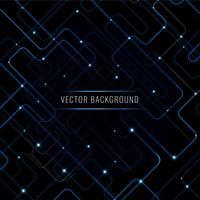 Futuristischer Technologie-Vektor-Hintergrund vektor