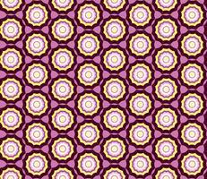 Geometrisk sömlös mönster. Abstrakt prydnad Swirl tyg bakgrund