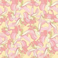 Blomönster. Blomma sömlös bakgrund. Blomstra prydnadsgardin