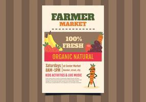 Flyer Design Bauernmarkt