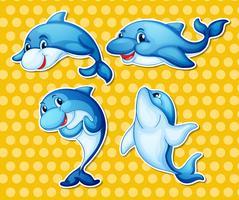 Delphin vektor