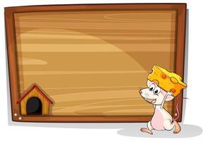 Maus und Zeichen vektor