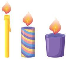 Kerzen vektor
