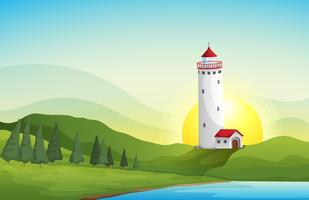 ein Leuchtturm