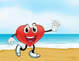 ein Ozean und ein Herz