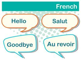 Olika uttryck på franska