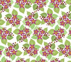 Blommigt sömlöst mönster. Blomma bakgrund.
