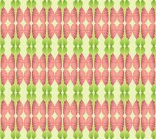 Abstraktes ethnisches mit Blumenmuster. Geometrische Verzierung.