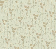 Abstraktes Blumenmuster. Blätter wirbeln nahtlosen Hintergrund vektor