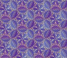 Abstrakt prickblomma sömlös textur. Snyggt kakelmönster