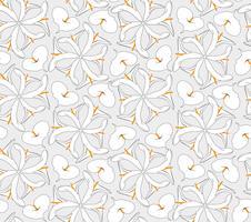 Abstrakt orientaliskt blommigt sömlöst mönster. Blom geometrisk prydnads bakgrund.