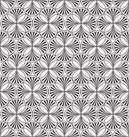 Abstrakt linje sömlöst mönster. Kaklat orientalisk geometrisk bakgrund
