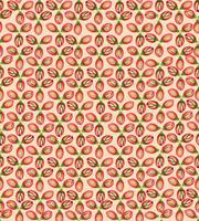 Abstraktes strukturiertes nahtloses mit Blumenmuster. Geometrische Blumen
