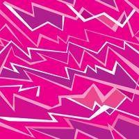 Abstrakt sömlös linje pttern. Ikat våg rosa geometrisk sömlös vektor